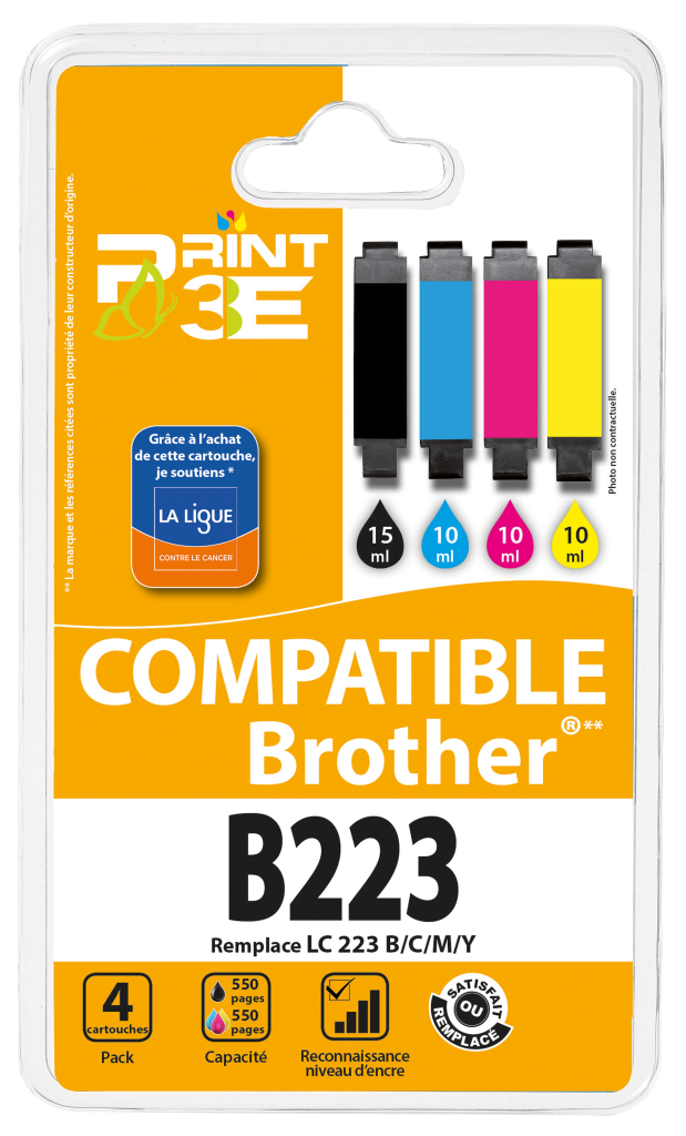 Pack Brother B223 - Print3E